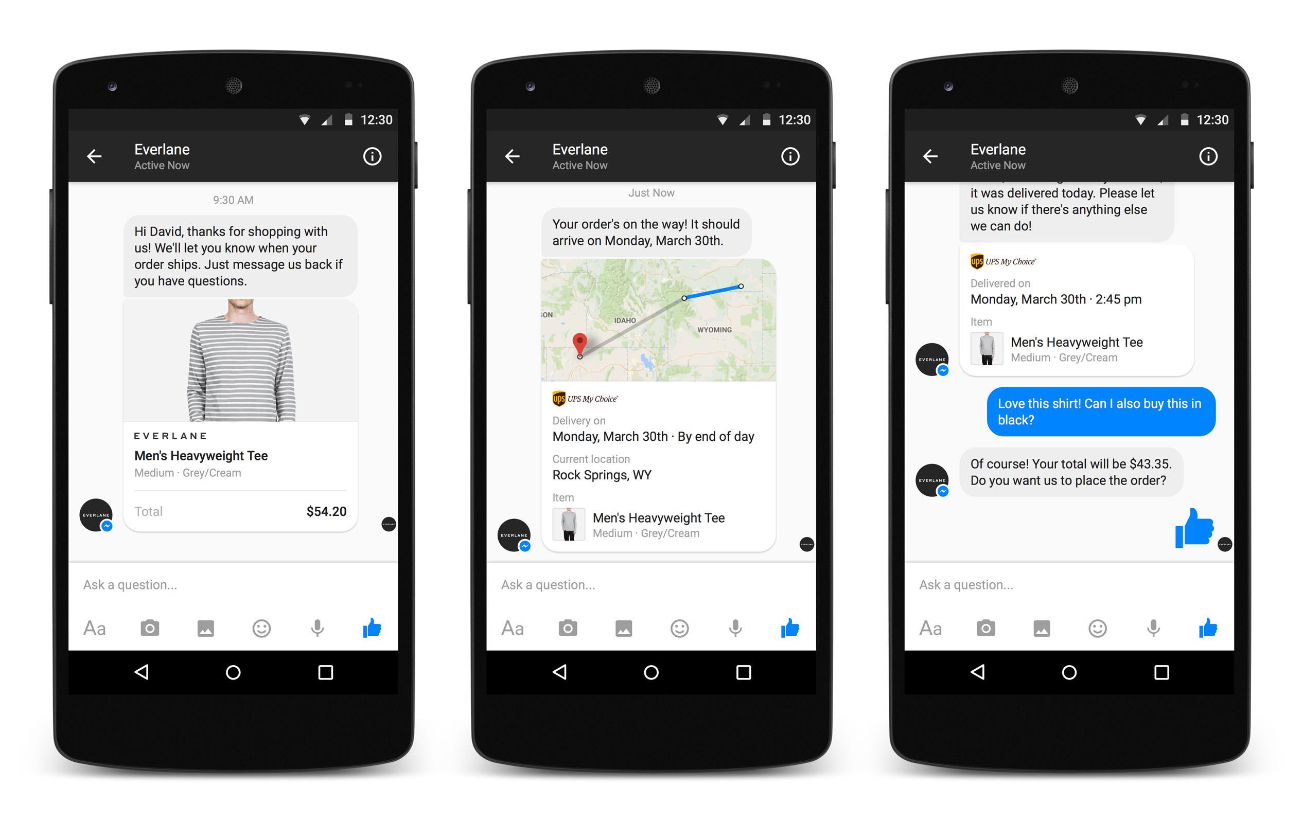 Businesses On Messenger - Facebook F8 Conference