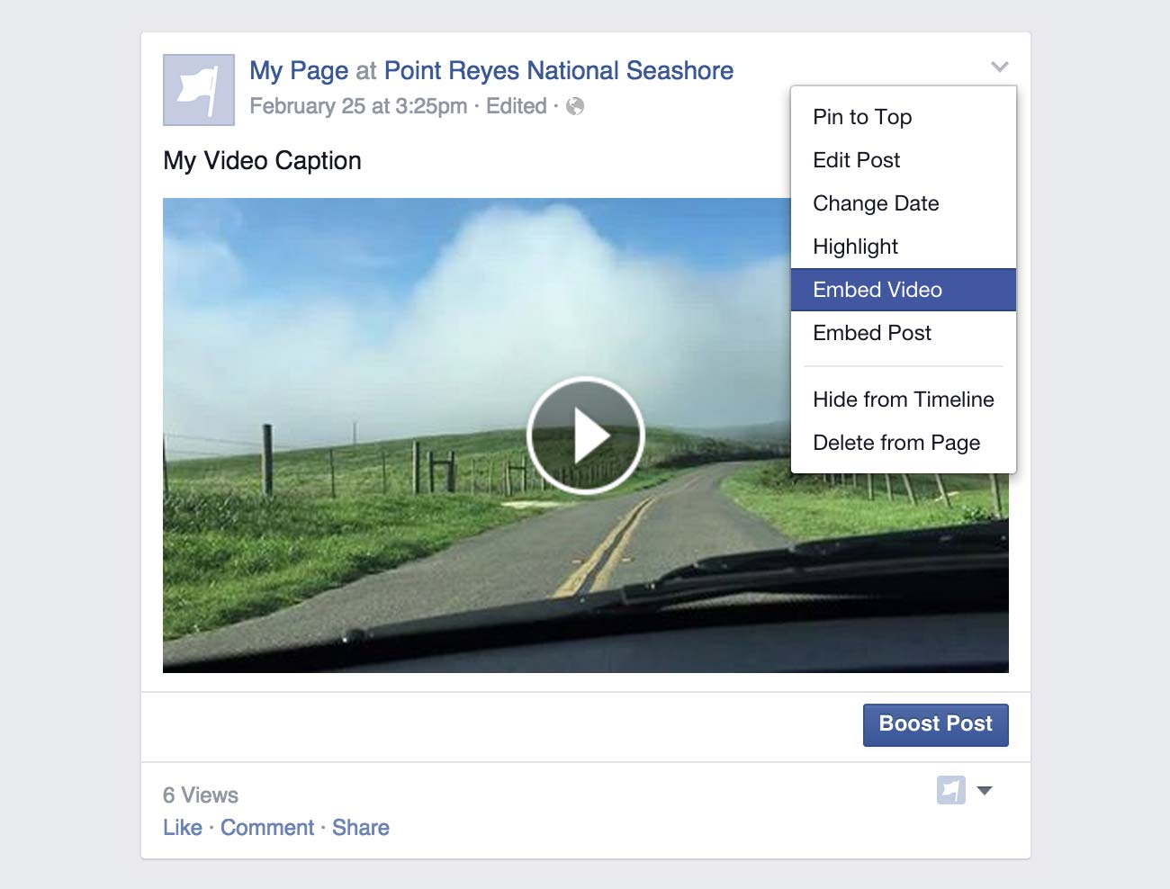 Embeddable Video Player - Facebook F8 Conference