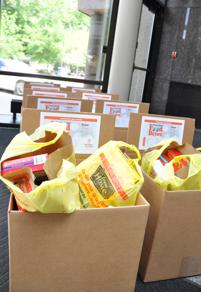 Words and Pictures - Food Drive 2015